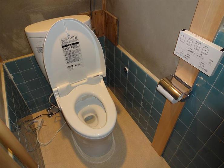 必要最低限のリフォームで掃除のしやすい様式トイレに