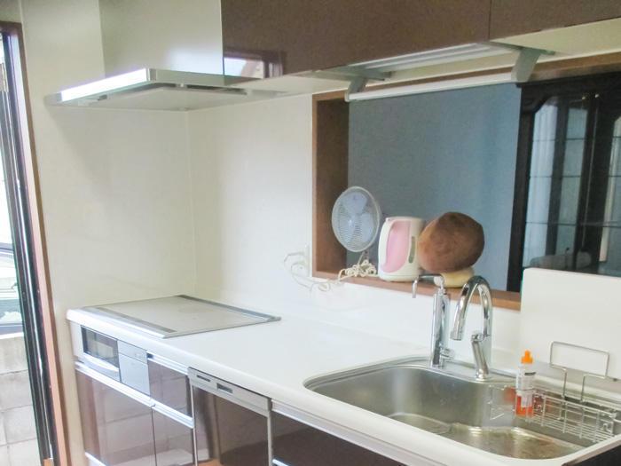オプションにこだわり機能性を追及したキッチン