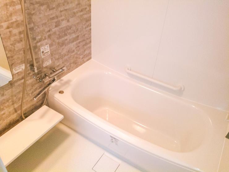 お風呂と洗面を分割し利便性アップ