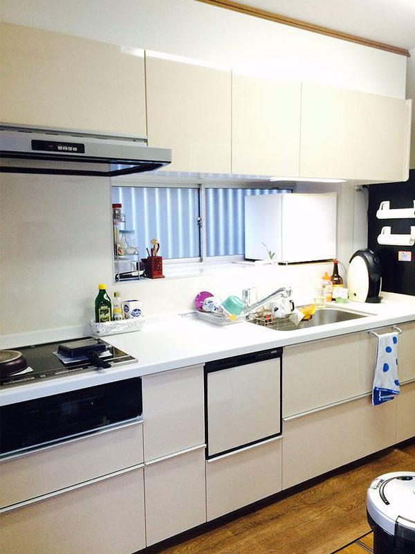 身長に合わせた高さのキッチンで料理・掃除も楽々