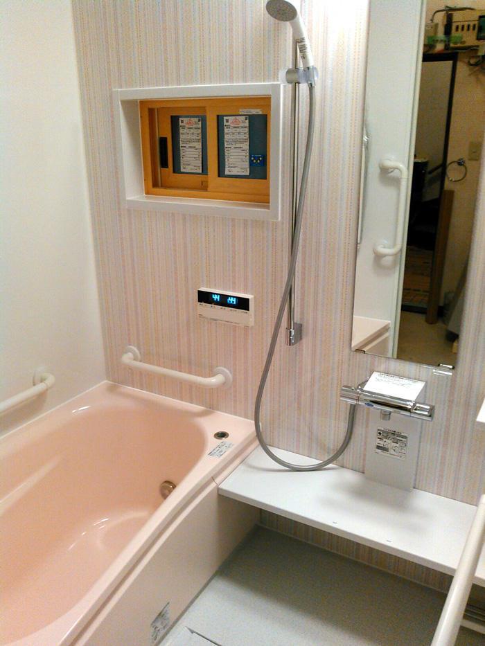 安全に温かく。安心して入れるバスルームへ
