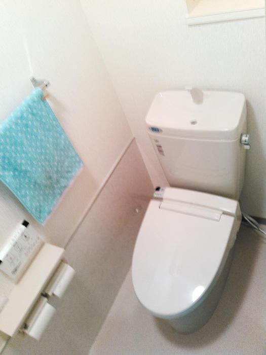 節水・清潔・スッキリな3Sトイレ