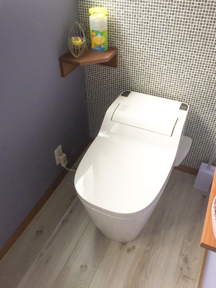 ユニークな手洗い器で世界にひとつのトイレ