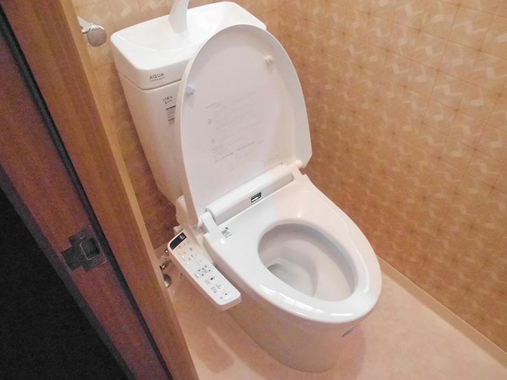 お値打ちながらも手入れしやすい節水トイレ