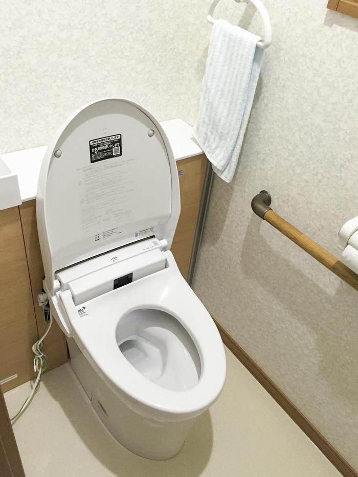 多種多様なリクエストに応え、夜間利用にも優れたトイレ