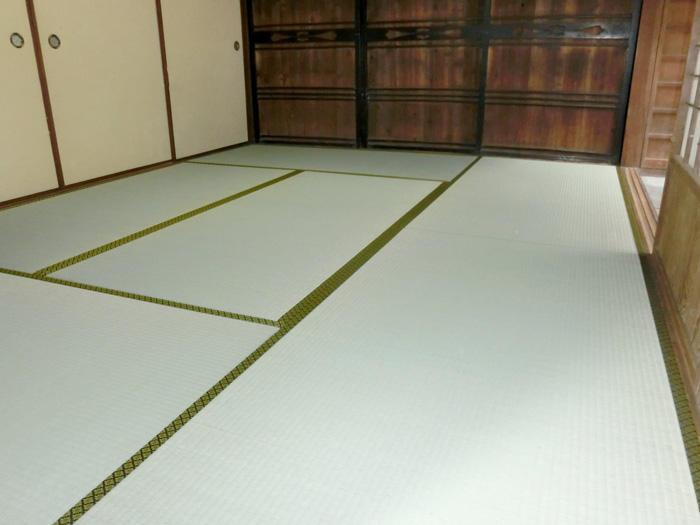 下地補強し畳も一新したイ草の香り豊かな和室