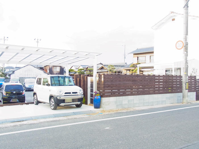 オシャレで機能性も充分!フェンスやカーポート
