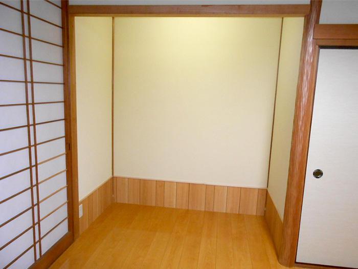 和室を快適な仕事部屋に