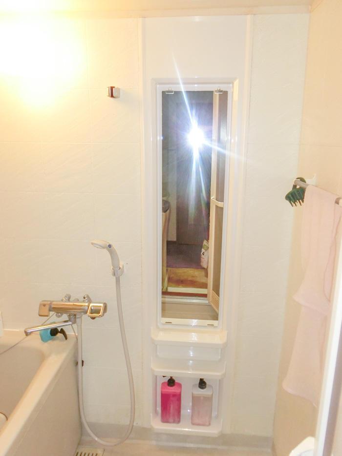 パネルを取り換えて清潔で気持ち良い浴室に