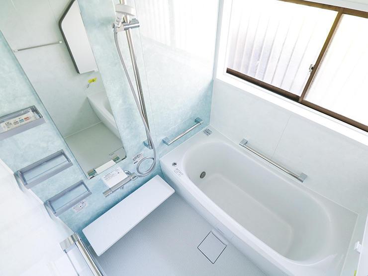 介護保険を利用しおじいちゃんも使いやすい浴室に