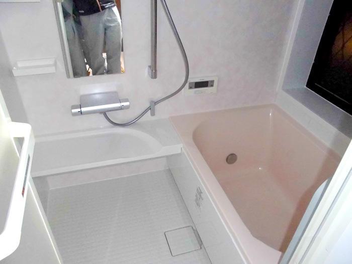 清潔であたたかさもアップした浴室