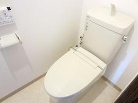 内装やアクセサリーを新しく、見違えるようにキレイになったトイレ