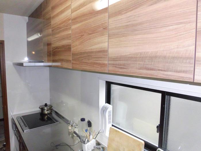 清掃性や機能性が上がった自分のためのキッチン