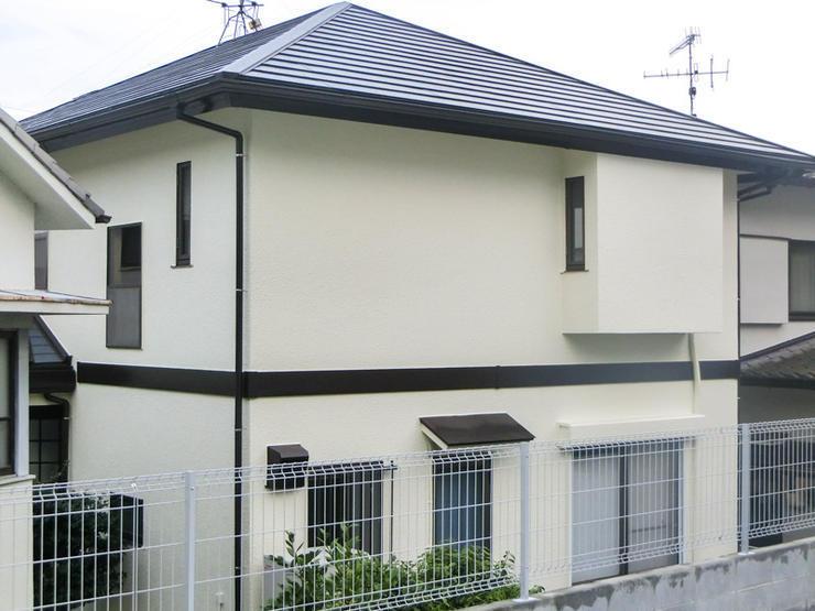 温水器を外した後の屋根と外壁のメンテナンス
