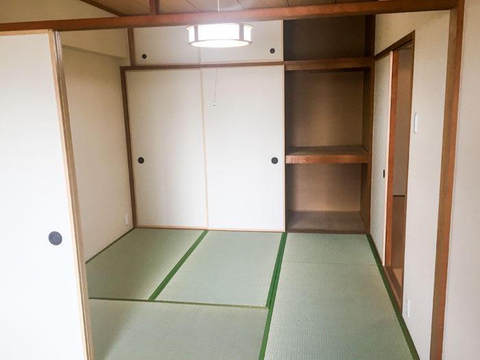 畳とふすまの取替で住みやすく綺麗な和室に