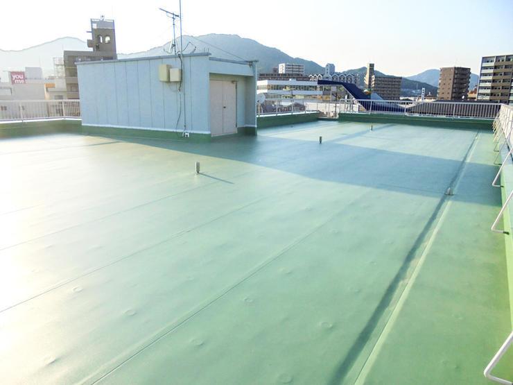 防水補修で雨漏り等ない安心の建物に