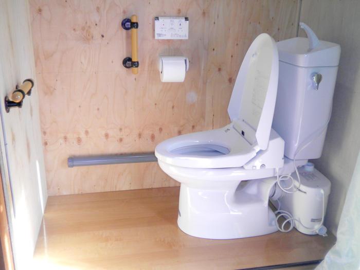 押入れを部屋から一番近いトイレに