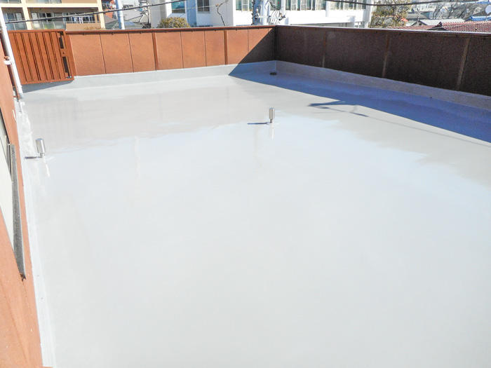 雨漏り対策・美観どちらもしっかり仕上げの屋上防水