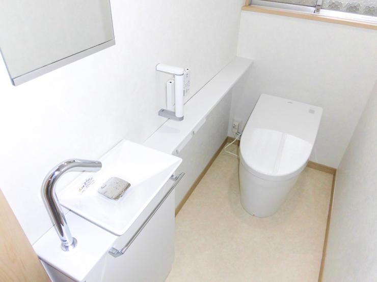トイレ2台同時実施でお得にリフォーム&新設