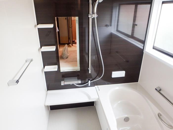 ヒートショック対策万全の清掃性も高い浴室