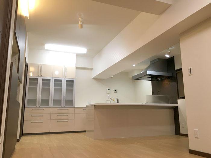 フルリフォームでずっと暮らしていける住みやすい部屋へ