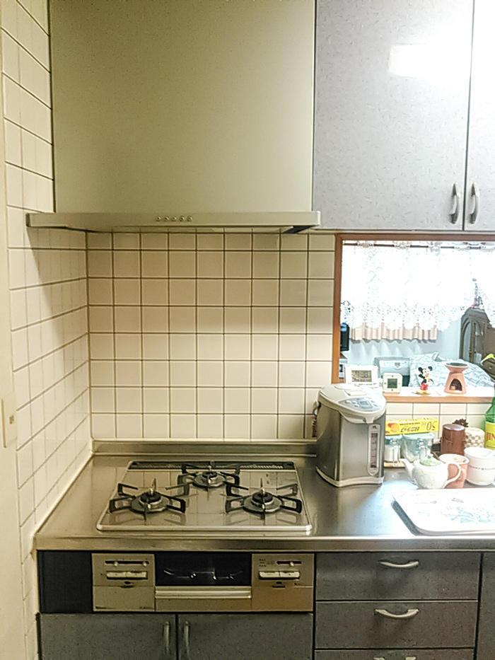 部分取替で手入れしやすく高機能なキッチン