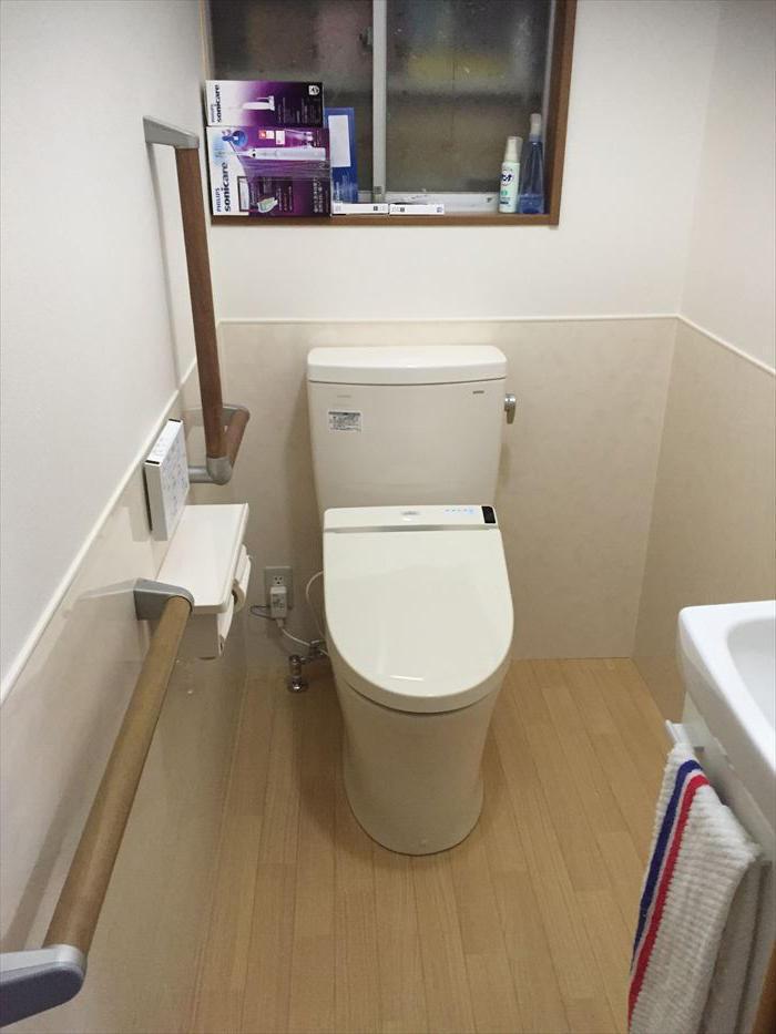 バリアフリーで安心してつかえるトイレ
