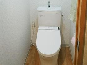 内装も同時にリフォームし、綺麗で安心して使えるトイレに