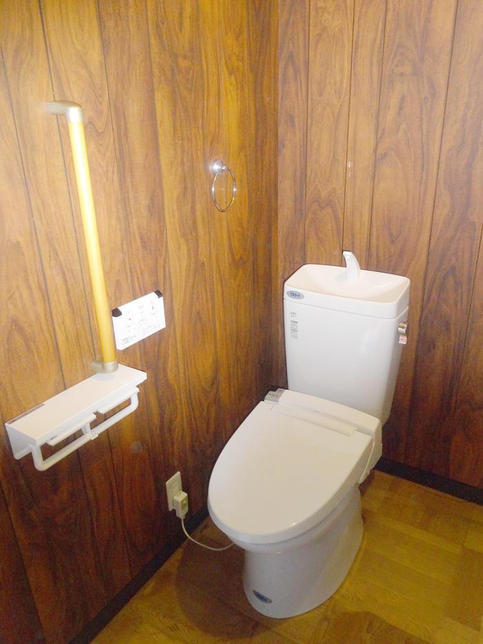 コストを抑えながらトイレを2Fに新設