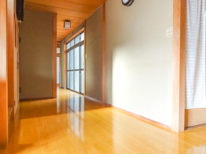 和風の自宅によく似合い高級感をプラスする床