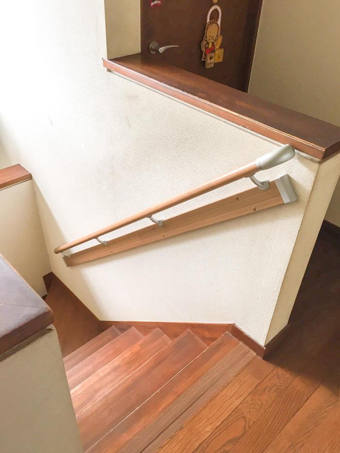 階段の上り下りがスムーズにできる手すり