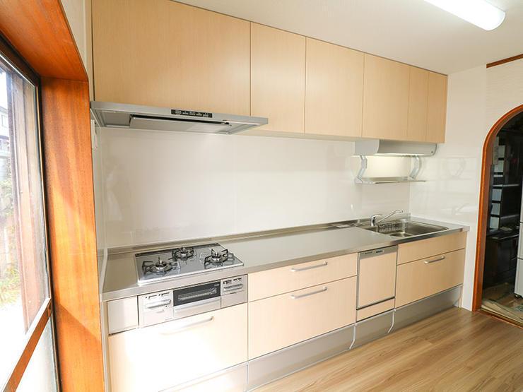 お部屋の雰囲気まで明るくするキッチンルーム