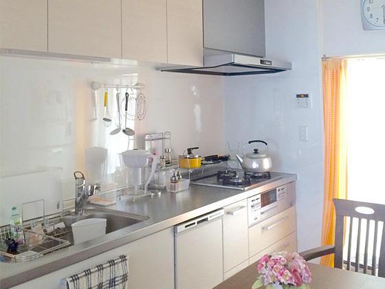 最新設備でお料理も楽しくなるキッチン
