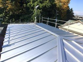 防錆性が優れ、長持ちする屋根