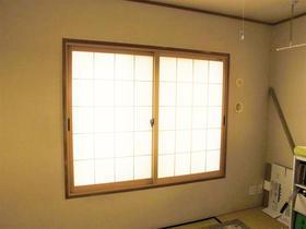 和室にも合う障子柄の内窓が遮熱・防音効果を発揮!