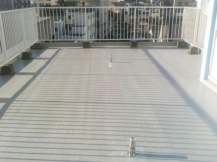 10年保証で安心の屋上防水工事