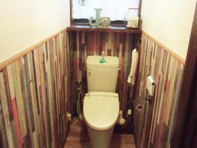 センス抜群!まるでお店のようなお洒落なトイレ