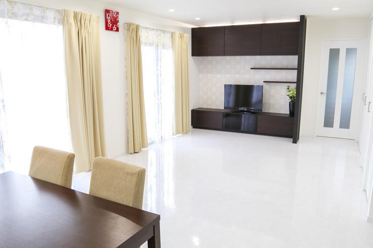 モデルルームのような清潔感のある雰囲気に一新