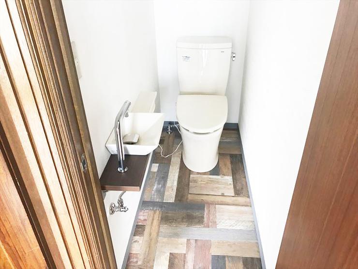 2階にトイレ新設で家族みんなが安心