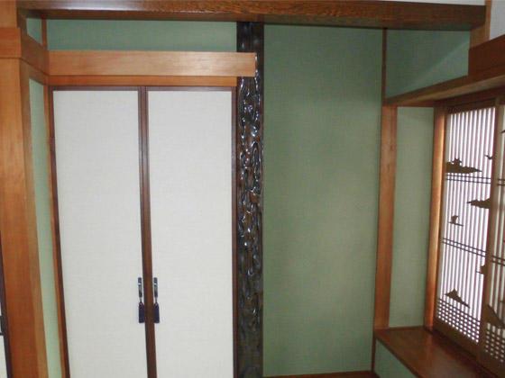 塗り替えで和室の見た目一新!
