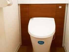 落ち着きのあるお洒落なトイレ空間