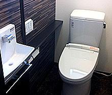 照明やデザインにこだわったトイレ