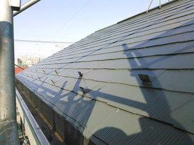 遮熱塗料で夏の暑さを抑えた屋根