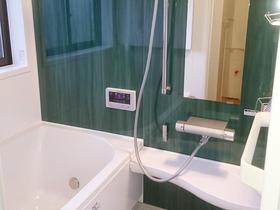 水切れがよく、カビが発生しにくい快適なバスルーム