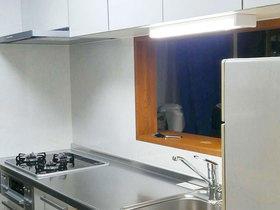 使い勝手がよくなり、収納力もアップしたキッチン空間