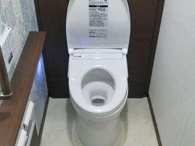収納スペースが増え、臭いも気にならなくなったトイレ空間