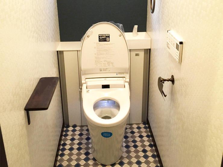 タンクレス風「リフォレ」でお洒落なトイレ