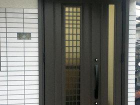 採風式タイプで換気ができる玄関ドア