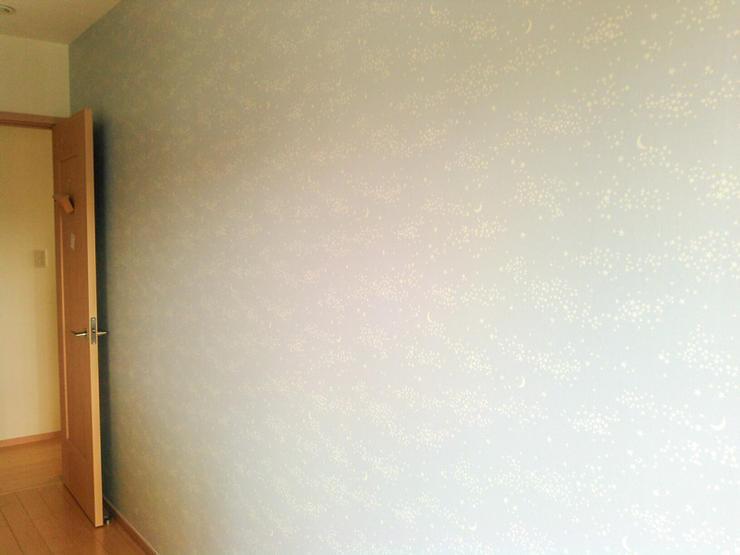 間仕切り壁を造作し子どもの部屋を2部屋に