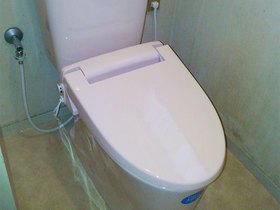 暖かい便座で快適なトイレ